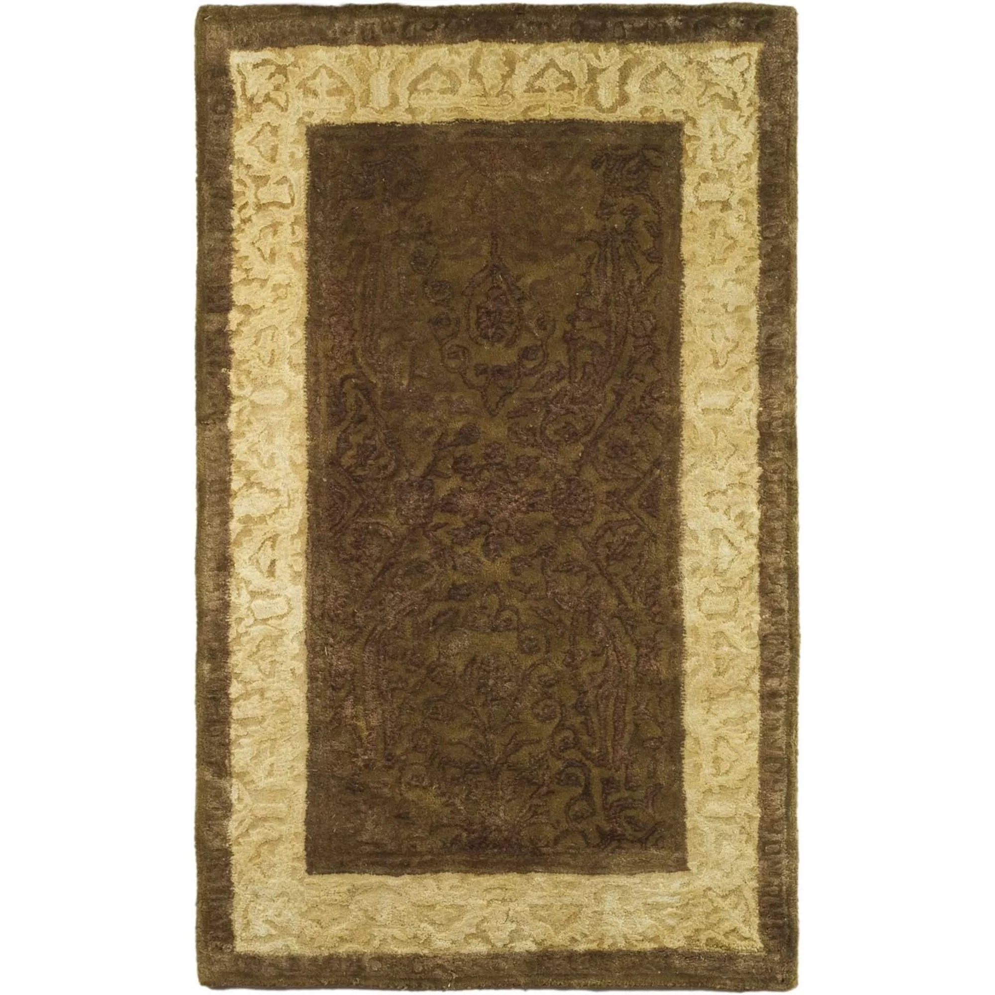 Safavieh Silk Road ChocolateLight Gold Area Rug  Reviews  Wayfair