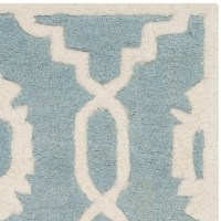 Safavieh Chatham Blue / Ivory Moroccan Rug & Reviews | Wayfair