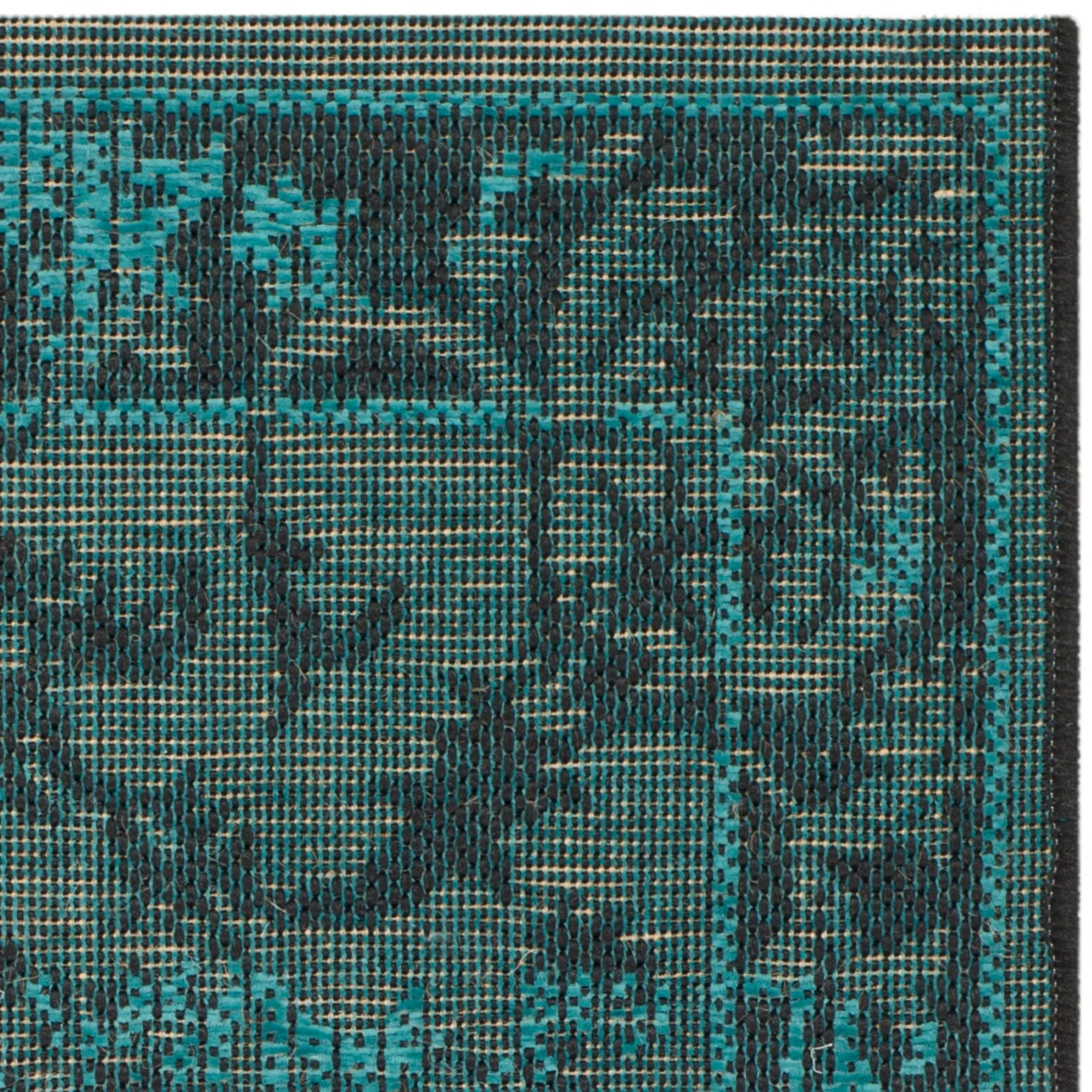 Safavieh Black and Turquoise & Reviews