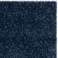Safavieh Shag Navy Blue Solid Rug & Reviews   Wayfair