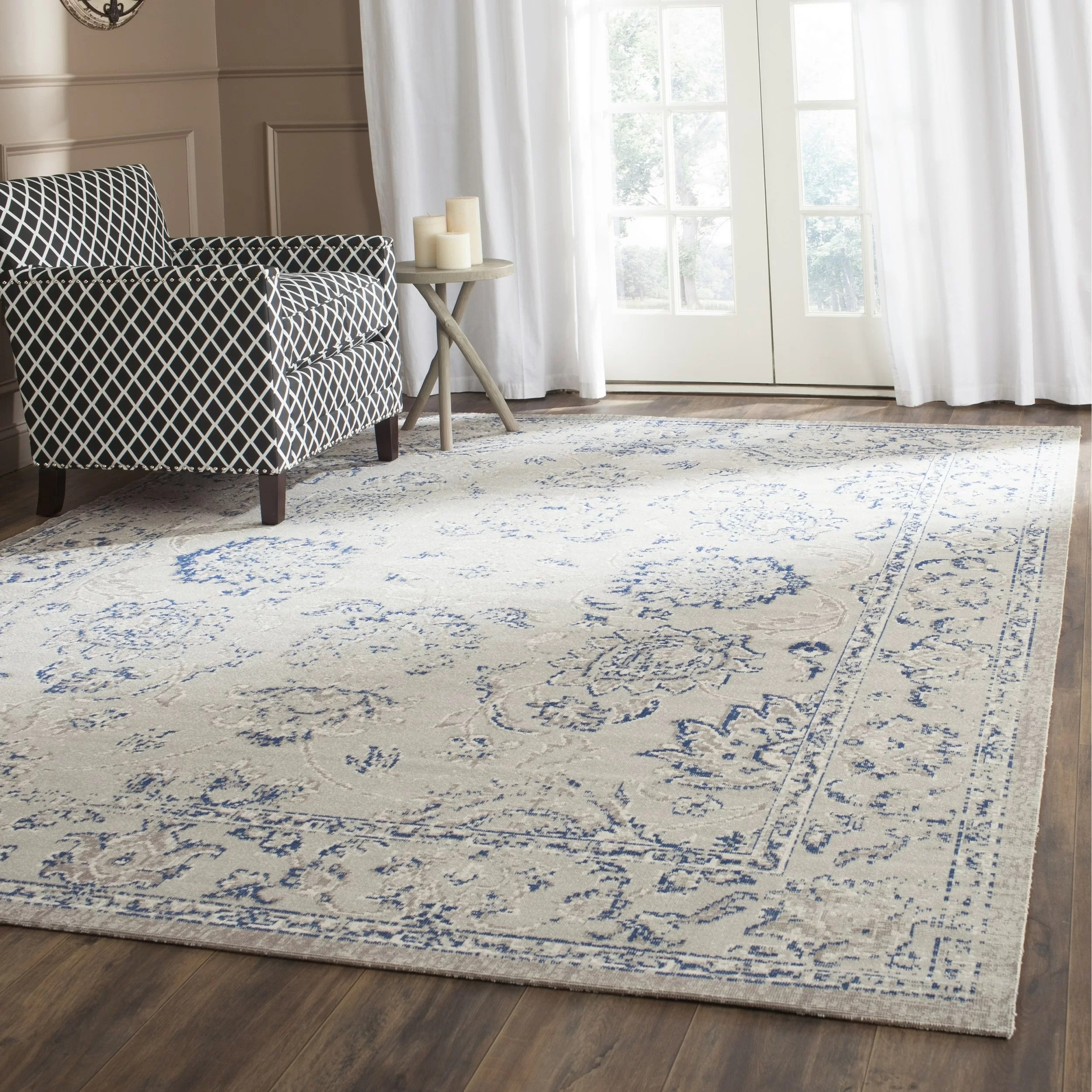 Safavieh Patina Grey  Blue Area Rug  Reviews  Wayfairca