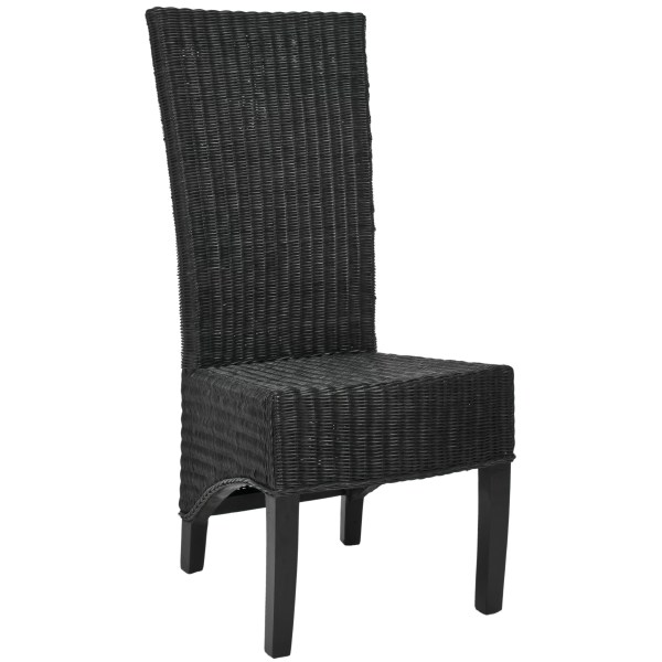 Safavieh Charlotte Shag Wicker Parson Chairs &