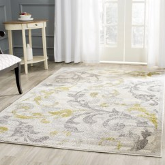 Grey Living Room Area Rugs Design Ideas For Large Walls House Of Hampton Levon Ivory/light Gray Indoor/outdoor ...