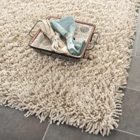 Safavieh Shag Taupe Area Rug & Reviews