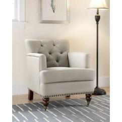 Safavieh Colin Tufted Club Chair Wooden Cushion Arm And Reviews Wayfair