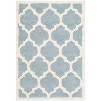Safavieh Chatham Blue & Ivory Moroccan Area Rug & Reviews ...