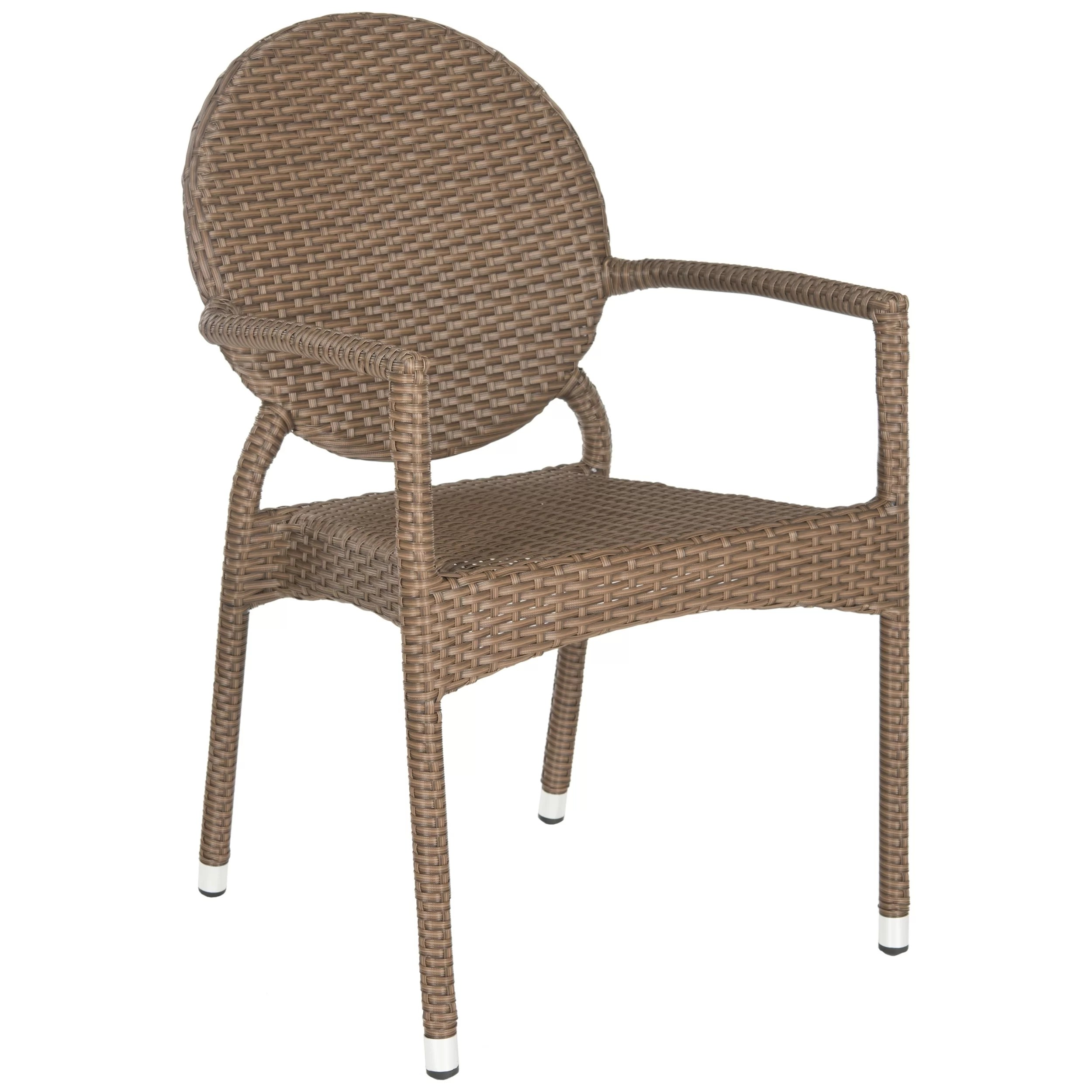Stacking Dining Chairs Safavieh Valdez Stacking Dining Arm Chair And Reviews Wayfair