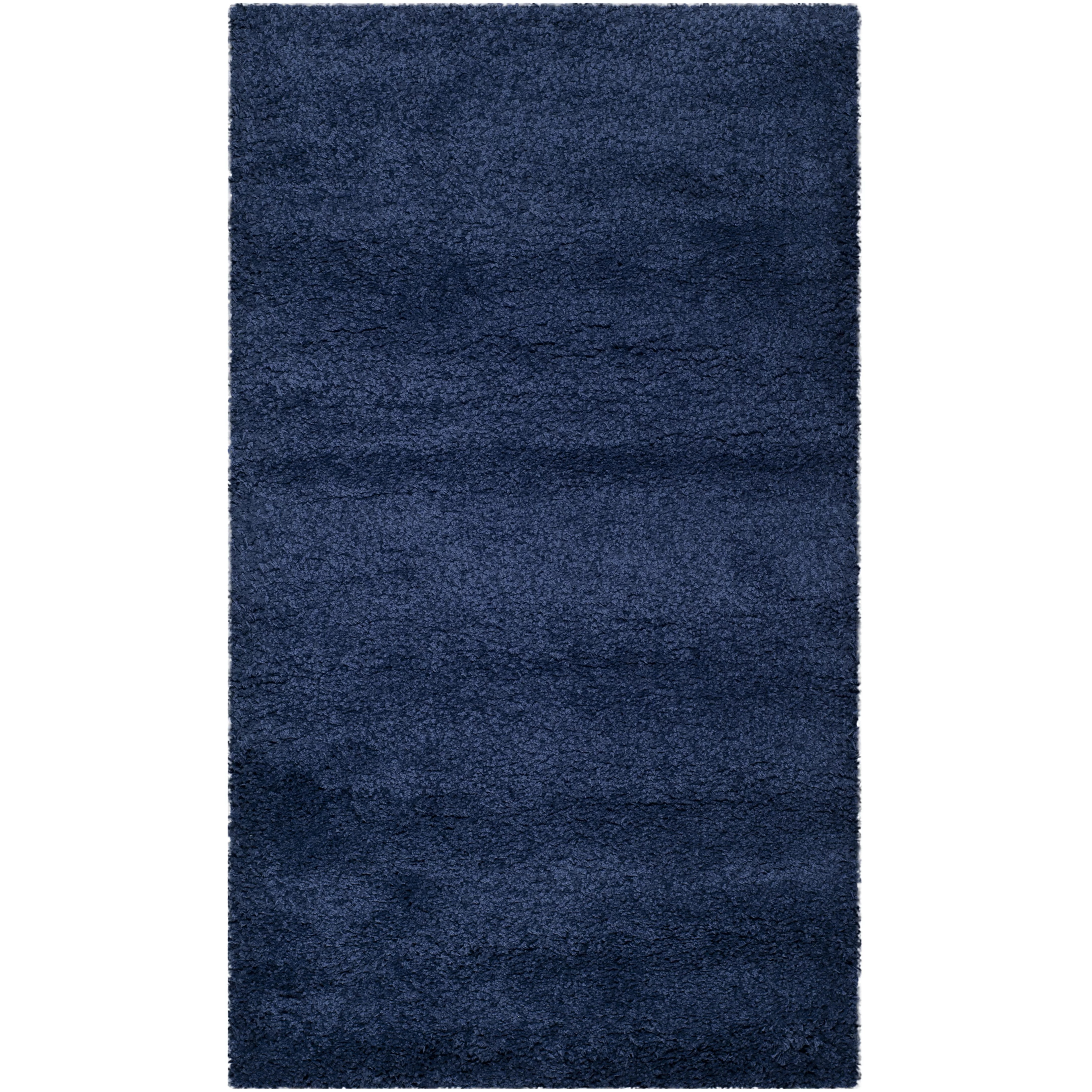 Safavieh Milan Shag Navy Blue Area Rug  Reviews  Wayfair