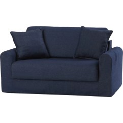 Playroom Sofa Bed Outdoor Gliders Fun Furnishings Children 39s Suede Sleeper And Reviews