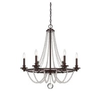 Savoy House Byanca 6 Light Candle Chandelier & Reviews ...