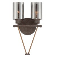 Savoy House Maverick 2 Light Wall Sconce & Reviews | Wayfair