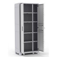 Keter Optima Wonder Tall Plastic Storage Cabinet & Reviews ...