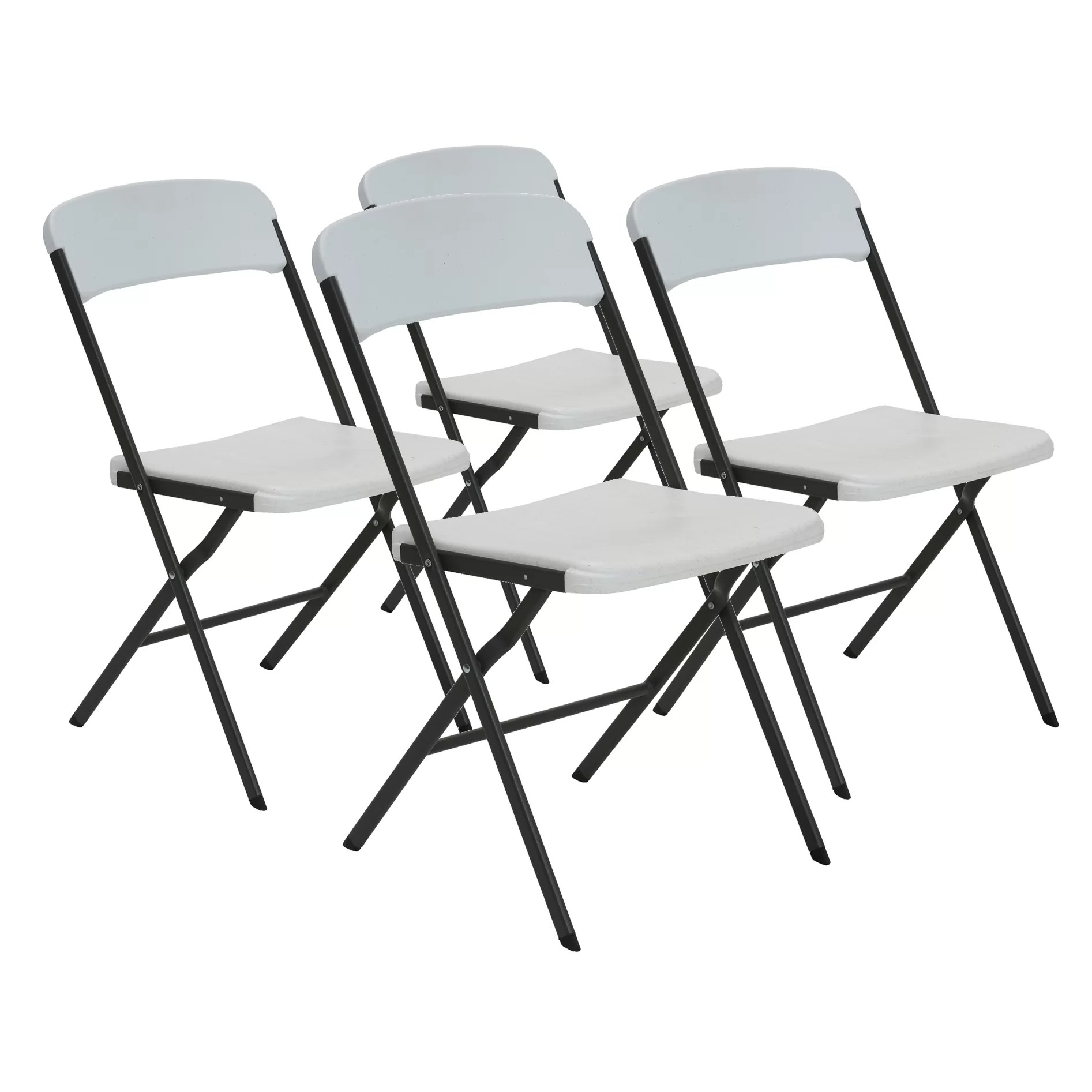 Modern Folding Chairs Lifetime Contemporary Essential Folding Chair Wayfair