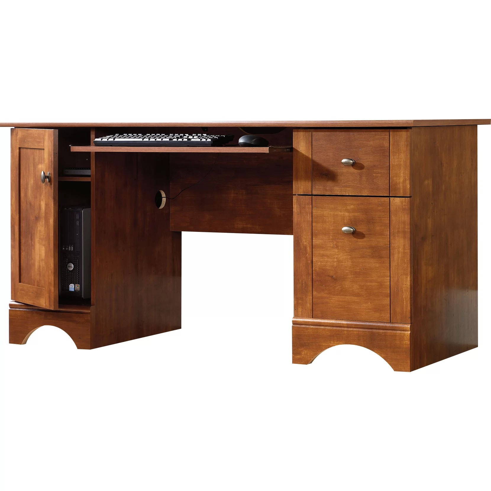 Sauder Computer Desk with 2 Storage Drawers  Reviews