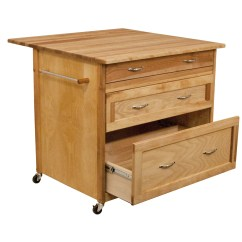 Catskill Craftsmen Kitchen Island Modern Lighting With Wood Top And Reviews