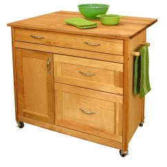 Catskill Craftsmen Kitchen Island Ikea Table With Drawers And Reviews Wayfair