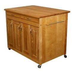 Catskill Craftsmen Kitchen Island Countertop Decor With Butcher Block Top