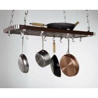 Concept Housewares Rectangular Ceiling Mounted Pot Rack