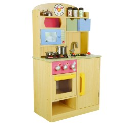 Kids Play Kitchen Accessories Cute Decor Teamson Little Chef Wooden With