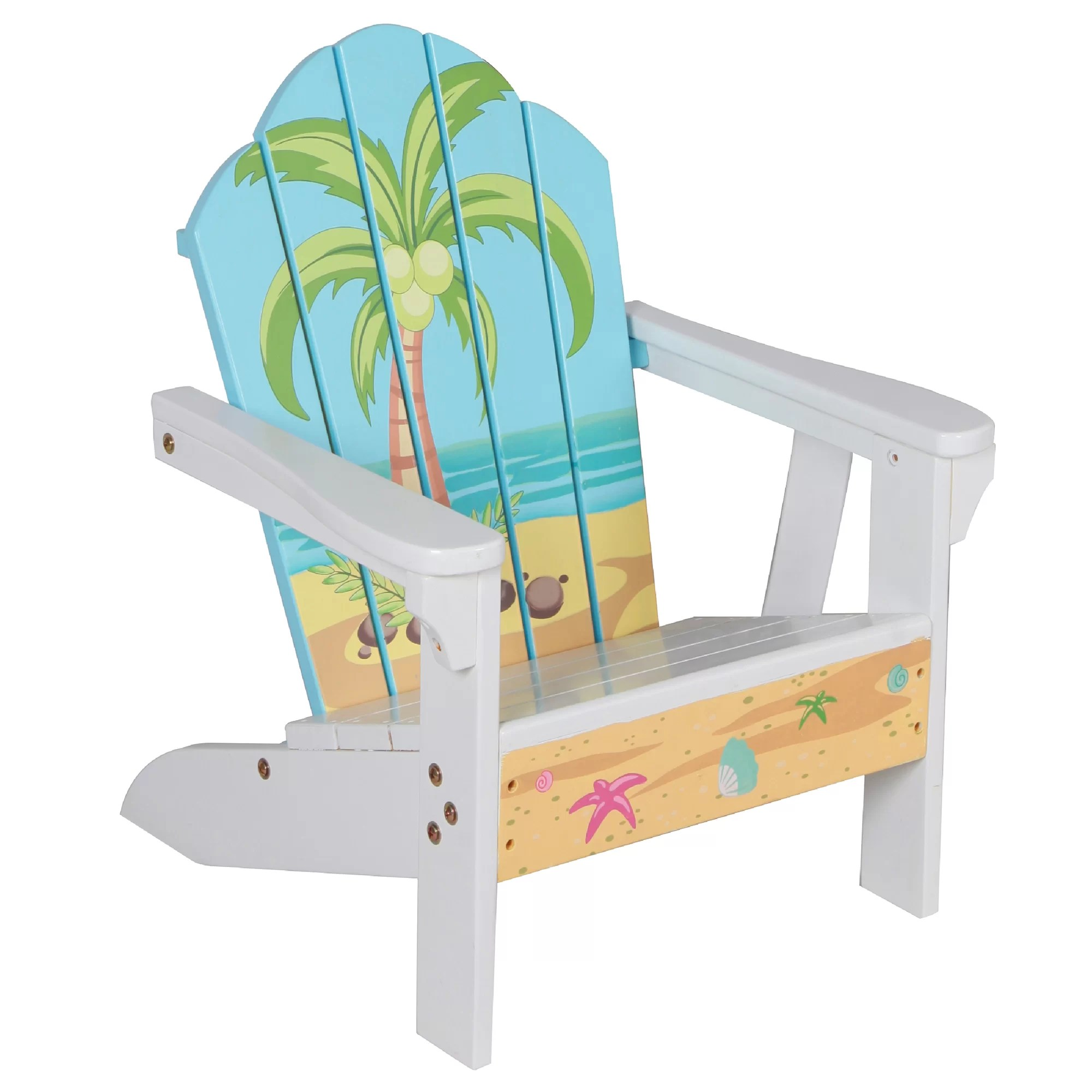 Kids Outdoor Table And Chairs Teamson Kids Winland Palm Tree Outdoor Wood Table And Chair