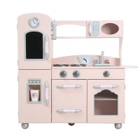 Teamson Kids Wooden Play Kitchen Set & Reviews