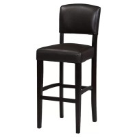 "Linon Monaco 30"" Bar Stool & Reviews"