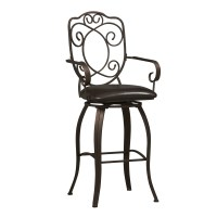 "Linon 30"" Swivel Bar Stool & Reviews"