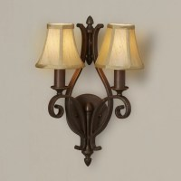 Feiss Tuscan Villa 2 Light Wall Sconce Lamp & Reviews ...
