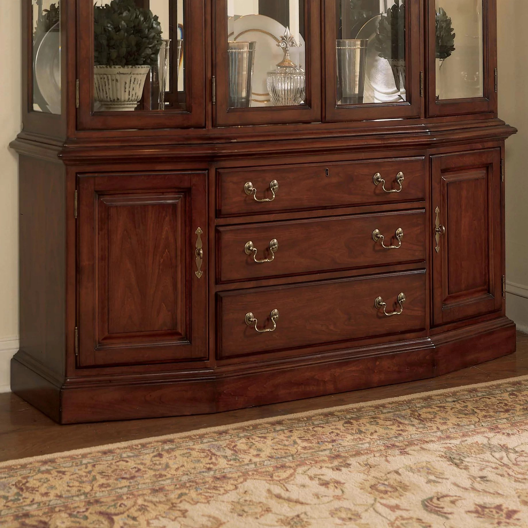 American Drew Cherry Grove China Cabinet Base  Reviews