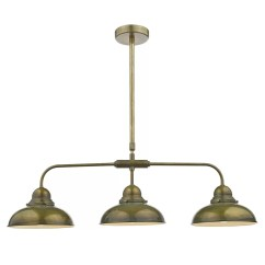 3 Light Kitchen Island Pendant Cabinet Dar Lighting Dynamo