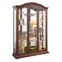 Philip Reinisch Co. Oxford Curio Cabinet & Reviews | Wayfair