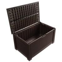 Rubbermaid Patio Chic Storage Bench & Reviews | Wayfair