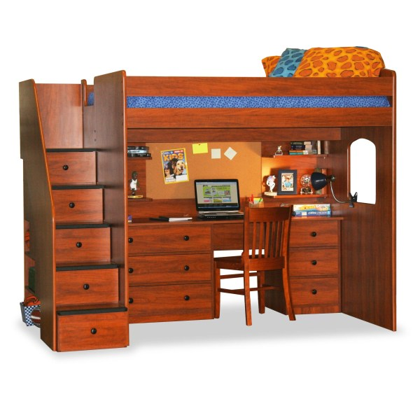 Berg Furniture Utica Full Loft Bed