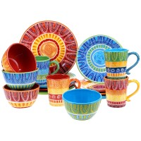 Certified International Tapas 16 Piece Dinnerware Set