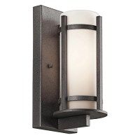 Kichler Camden 1 Light Outdoor Sconce & Reviews