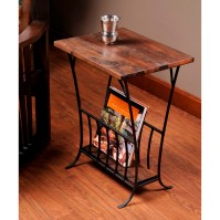 William Sheppee Depot Magazine End Table & Reviews | Wayfair