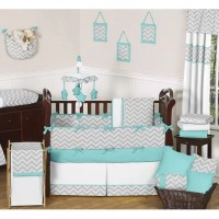 Sweet Jojo Designs Zig Zag 9 Piece Crib Bedding Set ...