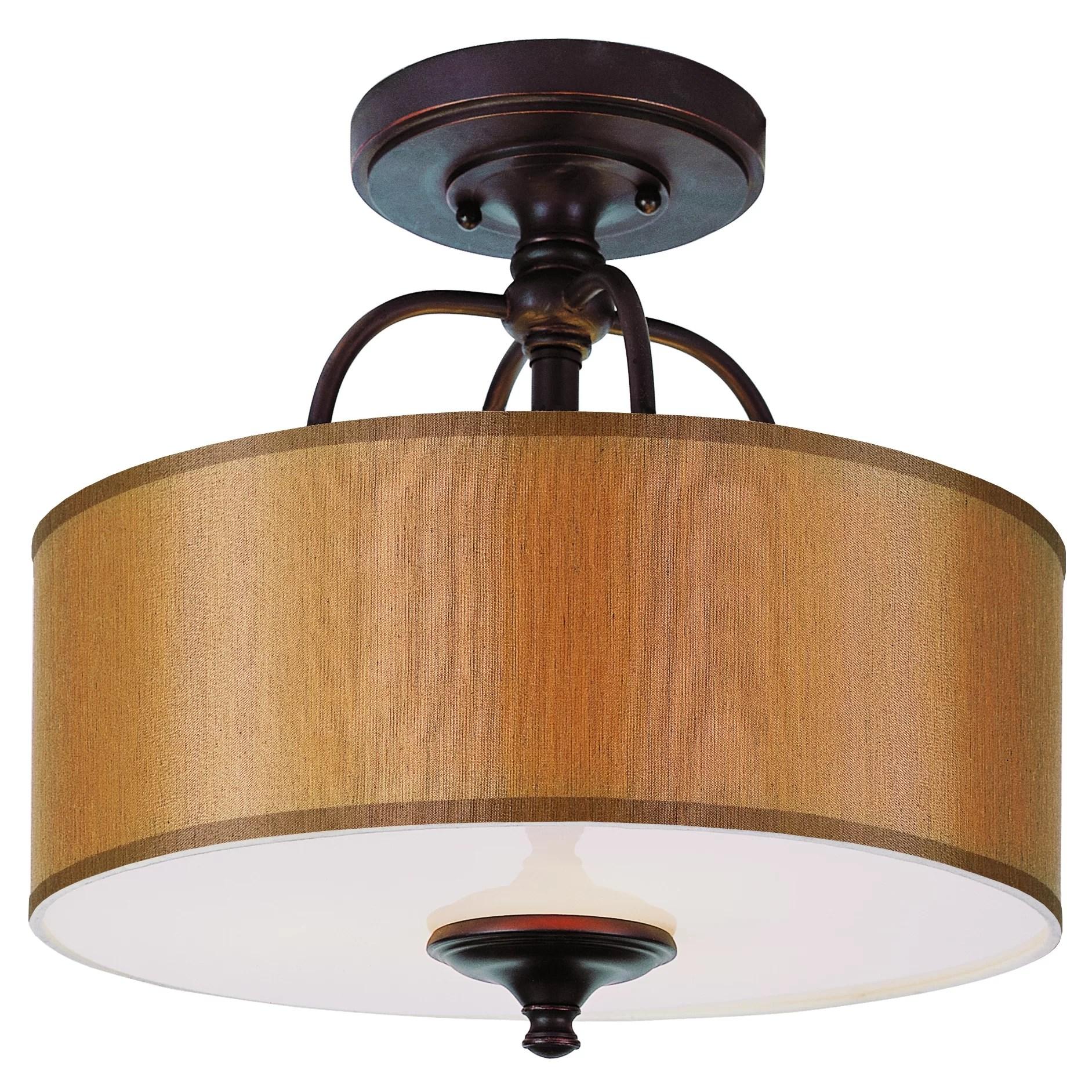 TransGlobe Lighting Modern Meets Traditional Semi Flush Mount  Reviews  Wayfair