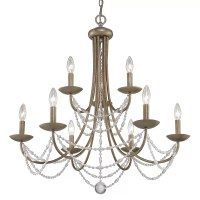 Three Posts Atwood 9 Light Crystal Chandelier & Reviews ...