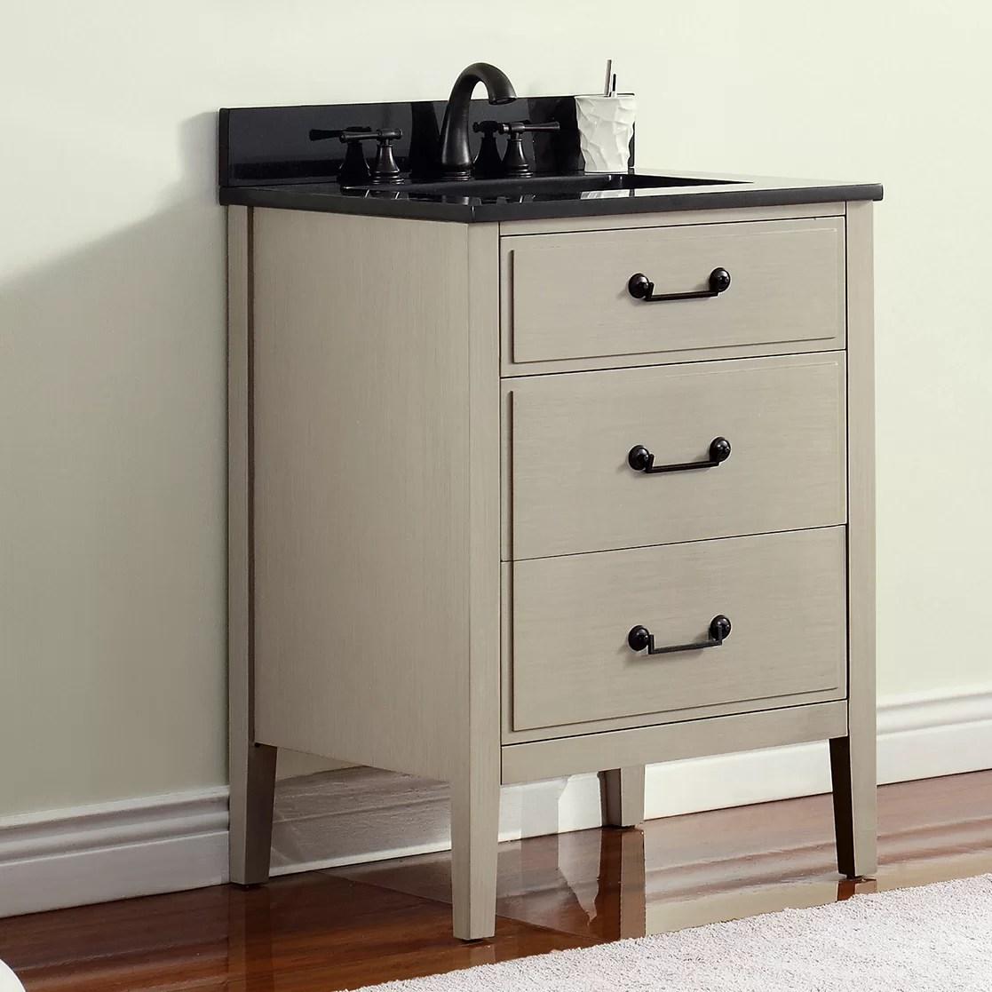 Avanity Delano 25 Single Modern Bathroom Vanity Set  Wayfair