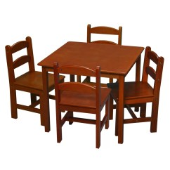 Kids Chair Set Steel Bd Price Gift Mark 5 Piece Table And Reviews Wayfair