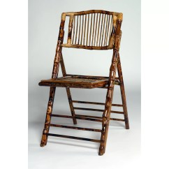Bamboo Folding Chair Horse Saddle Office Advanced Seating And Reviews Wayfair