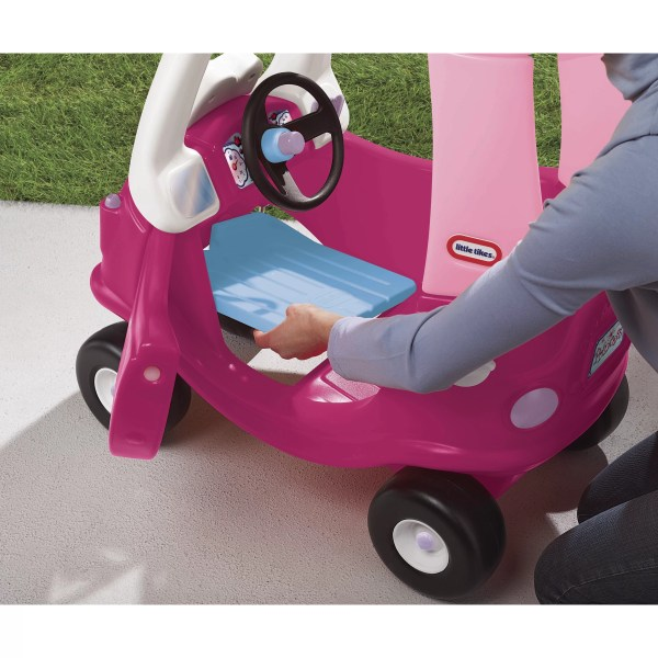 Little Tikes Princess Cozy Coupe Push Car &