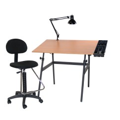 Drafting Table Chairs Most Comfortable Chair Ever Martin Universal Design Berkeley 4 Piece Melamine
