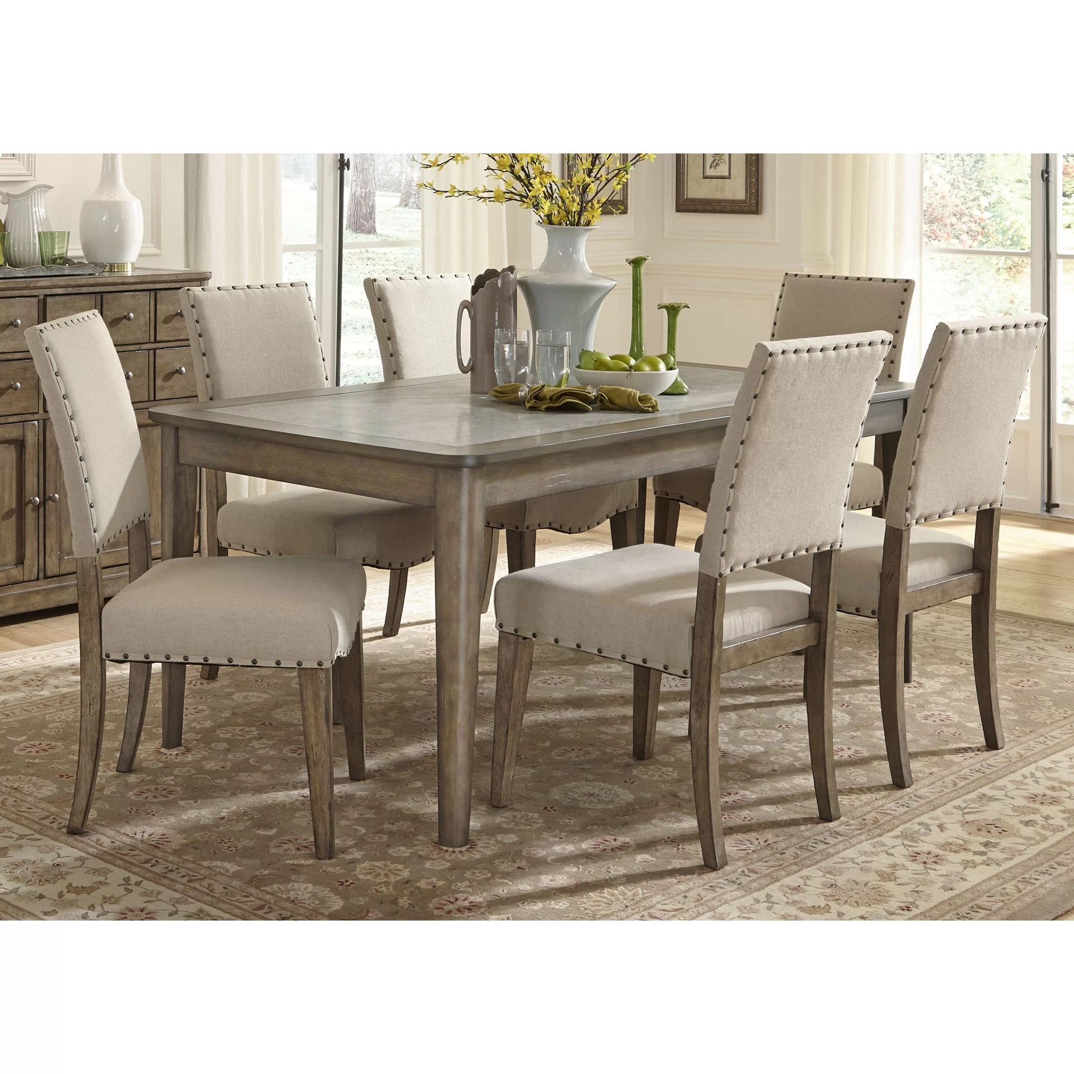 Dining Chairs Set Liberty Furniture 7 Piece Dining Set And Reviews Wayfair