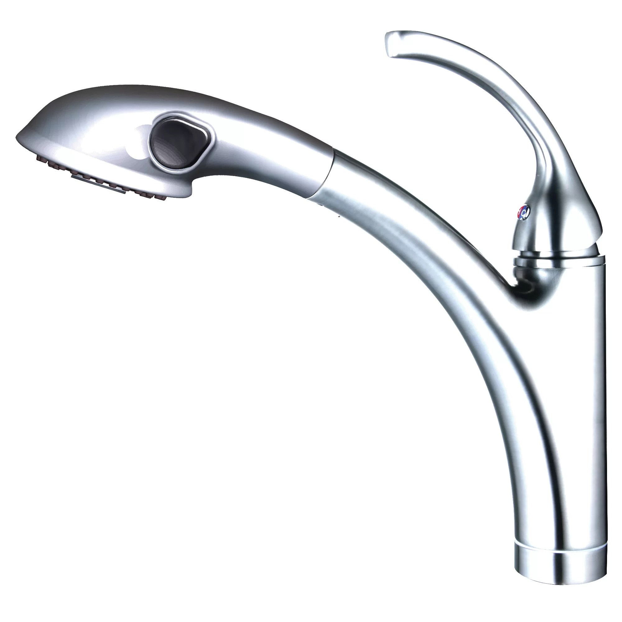 single hole kitchen faucet with pull out spray cabinet reviews yosemite home decor handle