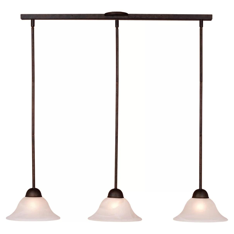 3 light kitchen island pendant linen curtains vaxcel da vinci and reviews