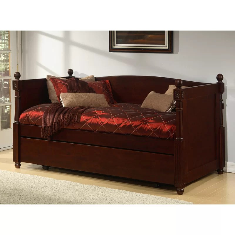 Alligator Monterey French Daybed with Box Trundle  Wayfair