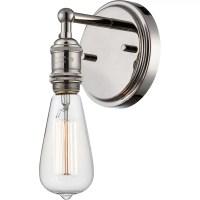 Nuvo Lighting Vintage 1 Light Bath Sconce & Reviews   Wayfair