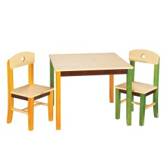 3 Piece Table And Chair Set Simple Wood Folding Plans Guidecraft See Store Kids Rectangle
